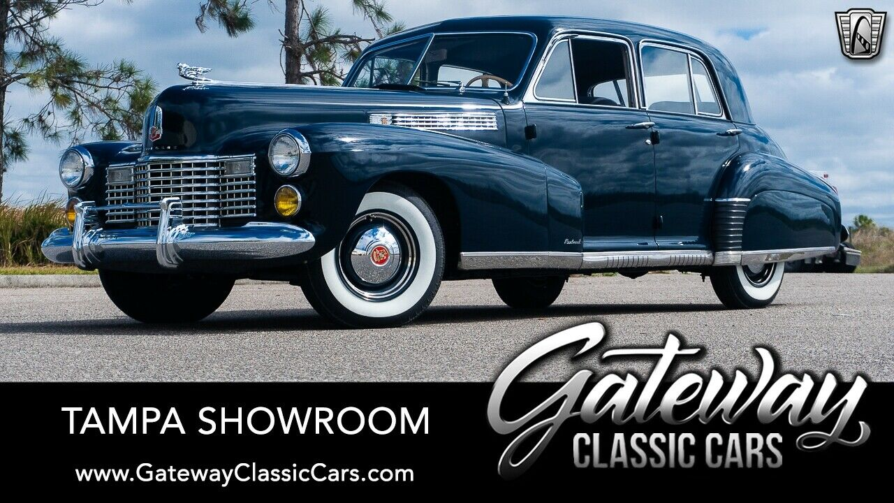Blue 1941 Cadillac Series 60  346 CID V8  3 Speed selective synchromesh manual A