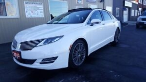 2013 Lincoln MKZ NO HST 1 WEEK ONLY-V6-AWD-NAVIGATION-SUNROOF