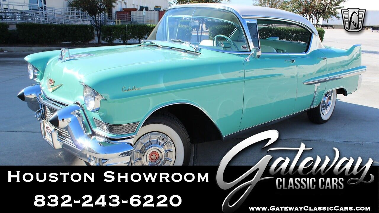 Green 1957 Cadillac Series 62  365 CID V8 3 Speed Automatic Available Now!