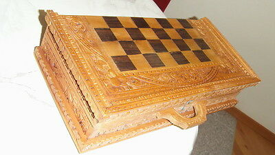 Schachfiguren/Schachberett aus Sammlung.Einzigartig!!!