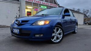 2007 Mazda MAZDA3 GT|HEATED SEATS|ALLOYS