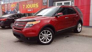 2014 Ford Explorer LIMITED AWD CUIR GPS CAMERA IMPECCABLE!!
