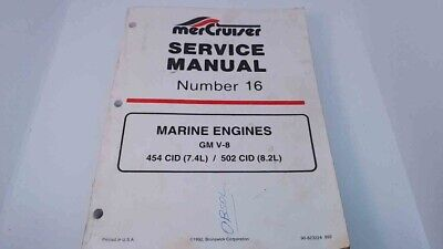 90-823224 MerCruiser Service Manual #16 Marine Eng