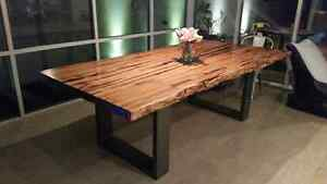 Timber Slab Table Dining Tables Gumtree Australia Free Local Classifieds