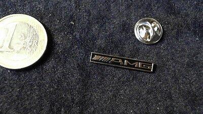 Mercedes Benz AMG Affalterbach Logo SCHRIFTZUG Pin Badge 25mm Tuning