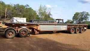 45ft barker camel trailer Cooktown Cook Area Preview