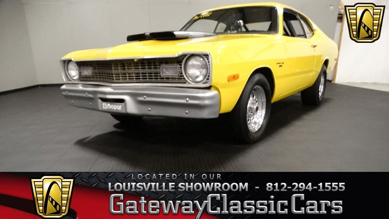 1973 Dodge Dart Race Car Yellow 1973 Dodge Dart Coupe 360 CID V8 727 Torque Flite Available Now!