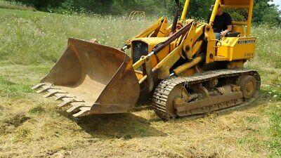 John Deere Jd 450b Jd450 B Crawler Tractor Loader Repair Service Manual