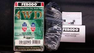 BRAKE PADS FERODO Mazda Bravo 4x4/Ford Courier Beenleigh Logan Area Preview