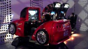 Cruis'n usa deluxe full motion vidéo arcade pinball 1500$