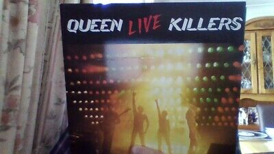 "QUEEN-2 VINYL ALBUMS-A KIND OF MAGIC and ""LIVE"" KILLERS BOTH IN VG+ CONDITION"