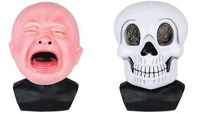 Bigmouth Riesig Baby/Schädel Halloween Party Kostüm Babyparty Maske - Big Baby Kostüm Maske