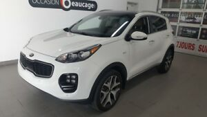2017 Kia Sportage SX Turbo, navigation, cuir, toit pano, hitch N