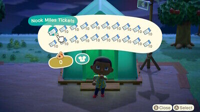 Animal Crossing New Horizons 200x Nook Miles Tickets Instant Delivery
