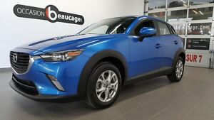 2016 Mazda CX-3 GS, groupe luxe, sièges cuir, toit ouvrant