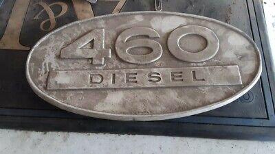 International Harvester 460 Diesel Tractor Emblem