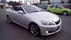 2010 LEXUS IS250C SPORTS LUXURY GSE20R CONVERTIBLE Yagoona Bankstown Area Preview