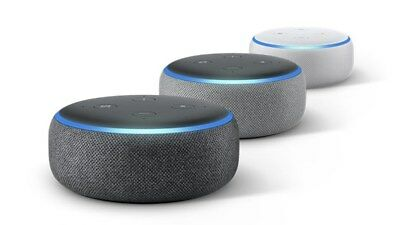 ALL NEW Amazon Echo Dot 3rd Generation w/ Alexa Voice Media Device NEW  SEALED