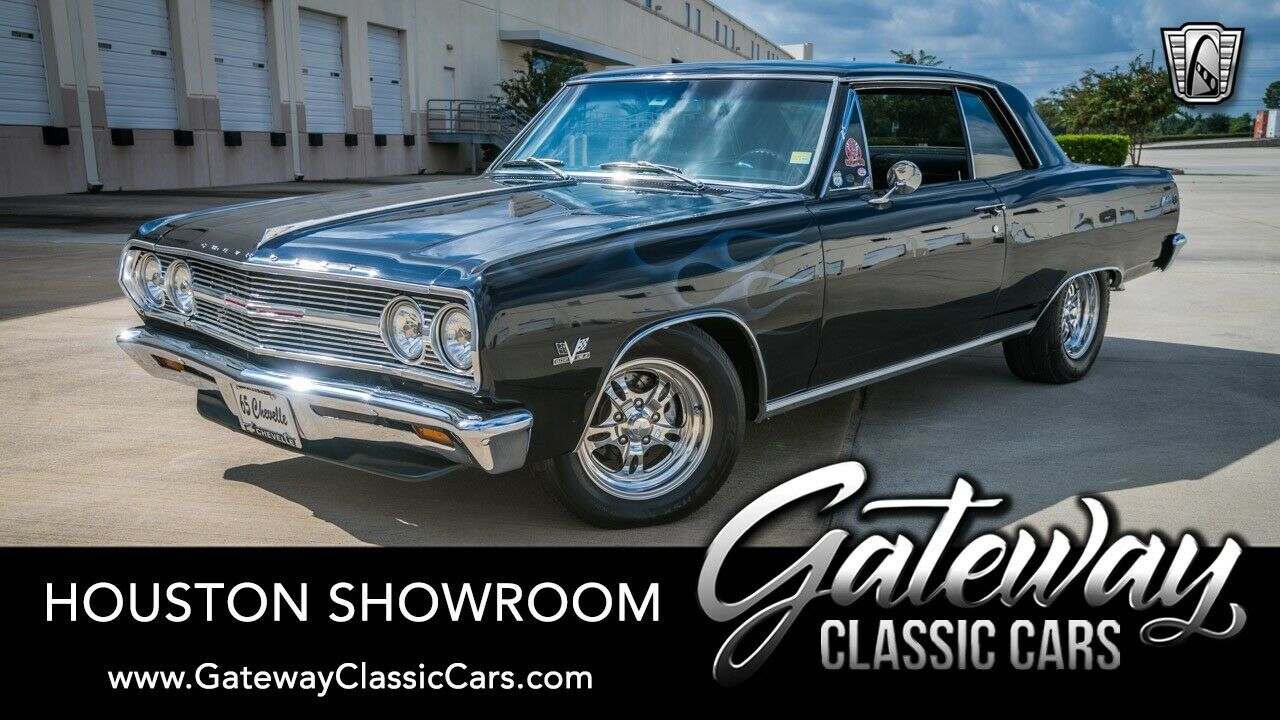 Black 1965 Chevrolet Chevelle  482 CID V8 4 Speed Manual Available Now!