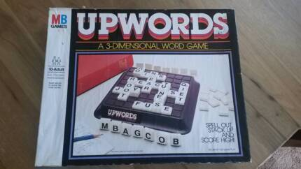 UPWORDS Vintage Board Game Dodges Ferry Sorell Area Preview