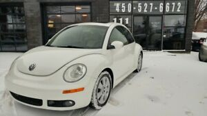 2010 VOLKSWAGEN NEW BEETLE - CUIR - TOIT OUVRANT