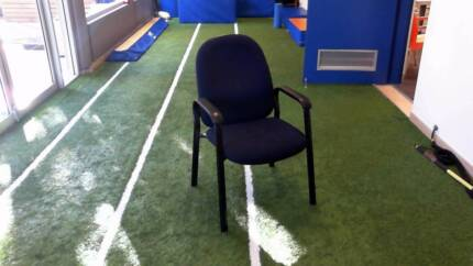 12 x navy blue arm chairs FREE. You just have to pick them up. Concord Canada Bay Area Preview