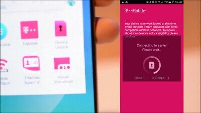 Unlock T-Mobile service Samsung S8/s7/s6/Note 8/S5 and others unlockapp carrier for sale  USA