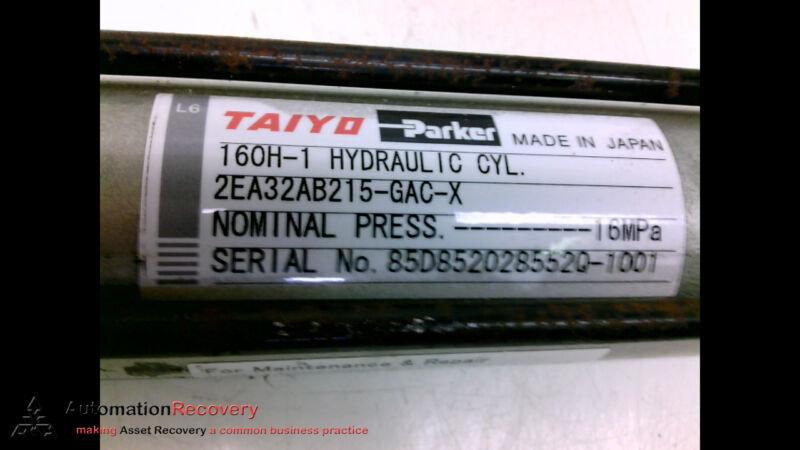 PARKER 160H-12EA32AB215-GAC-X HYDRAULIC CYLINDER #199037
