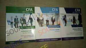CFA 2017 Kaplan Schweser Level 1,2,3 Package with *QUESTION BANK* Melbourne CBD Melbourne City Preview
