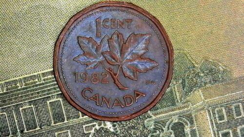 1982 CANADA SMALL CENT