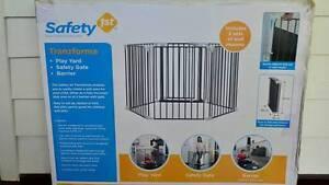 Safty 1st Tranzforma 3-in-1 Playard - Safty Gate/Playpen/Barrier Enoggera Brisbane North West Preview