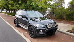 "CHEAPEST 2008 BMW X5 V8 4.8L! TV SAT NAV BLACK ON BLACK 20"" RIMS! Guildford Parramatta Area Preview"
