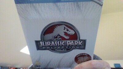 Jurassic Park trilogy / 3D VERSION  BLU RAY boxset -brand new & sealed cert pg