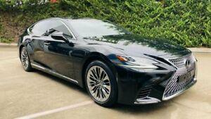 2018 Lexus LS VXFA50R LS500 Sports Luxury Black 10 Speed Sports Automatic Sedan