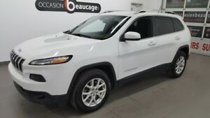 2015 Jeep Cherokee North 4x4, V6, groupe remorquage, caméra recu