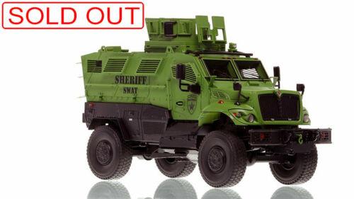 Fire Replicas INTERNATIONAL MVP 4X4  LTD ED SHERIFF SWAT FR107B-3 Sold Out New