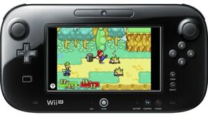 Wii u control and animal crossing game!