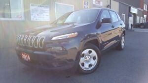 2015 Jeep Cherokee Sport-1 OWNER OFF LEASE-BLUETOOTH-INFO SYSTEM