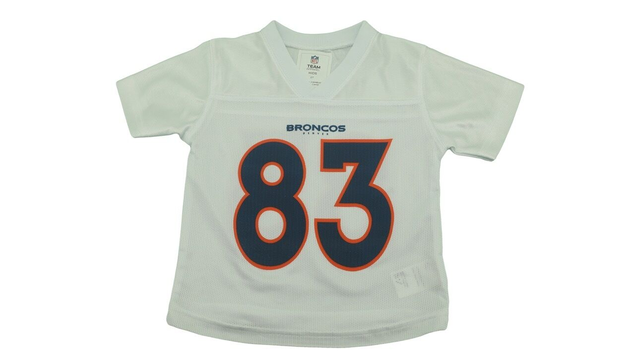 pretty nice b8681 64b83 Details about Denver Broncos Wes Welker #83 Official NFL Youth Toddler  Infant Jersey New