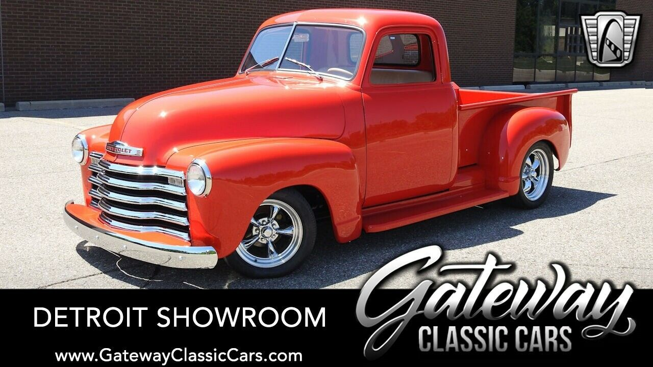 Red 1950 Chevrolet 3100  Pickup Truck 383 CID 700 R4 Automatic Available Now!