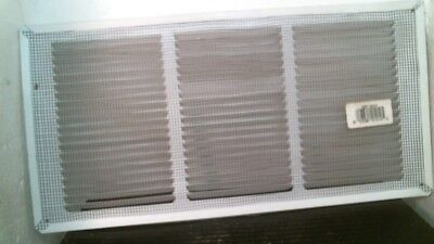 "Air Vent Undereave White Vent 16"" X 8"" 56 Sq. In. Of Net Free Area, FS"