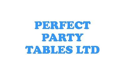 PERFECT PARTY TABLES