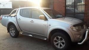 2010 Mitsubishi Triton Ute, Willing to Swap for F series Truck Coburg North Moreland Area Preview