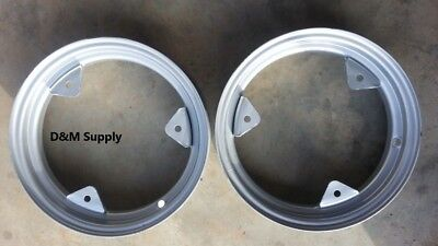 Pair 2 Farmall International Ih A B C 100 130 140 200 230 Tractor Wheels Rim