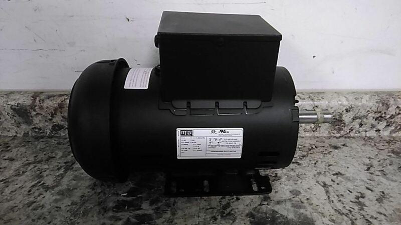 Weg 13521268 5 HP 3440 RPM 230VAC Cap-Start/Run Air Compressor Motor (C)