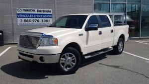 2007 Ford F-150 LARIAT V8 4X4 CREW CAB CUIR TOIT OUVRANT