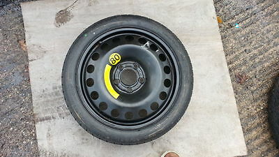 """VAUXHALL COMBO 2011-2018 SPACE SAVER 15"""" SPARE WHEEL & TYRE FREE DELIVERY"""