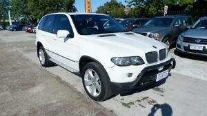 2006 BMW X5 E53 MY05 d Steptronic White 6 Speed Sports Automatic Wagon St James Victoria Park Area Preview