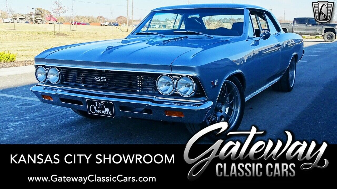 Cortez Silver 1966 Chevrolet Chevelle  502 CID 6 Speed Manual Available Now!