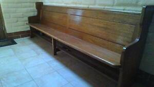 Historic Balhannah Uniting Church Pew Oakbank Adelaide Hills Preview